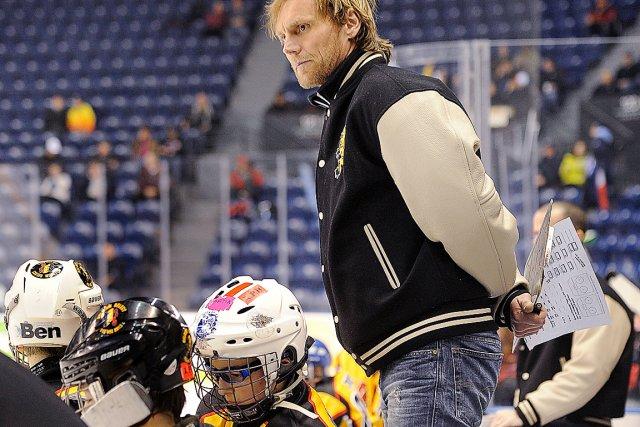L'entraîneur de la formation belge Frédéric Nilly aimerait... (Photo Le Soleil, Patrice Laroche)