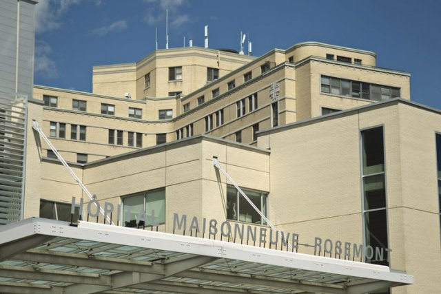 Le projet de réfection de l'hôpital Maisonneuve-Rosemont, estimé... (Photo: Hugo Sébastien Aubert, La Presse)
