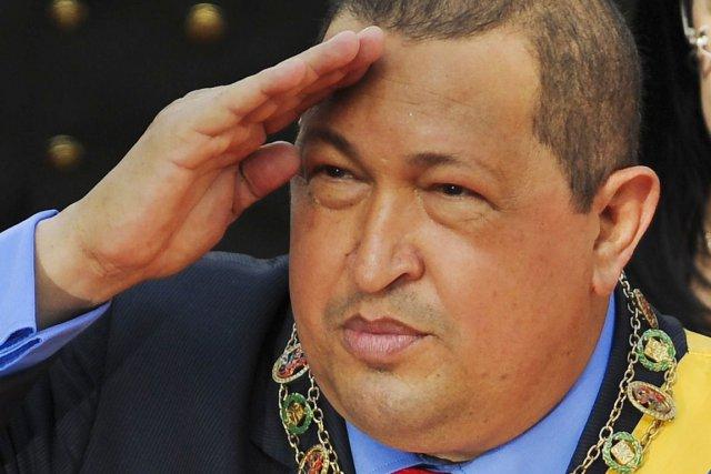 Hugo «el Comandante» Chavez.... (PHOTO LEO RAMIREZ, ARCHIVES AFP)