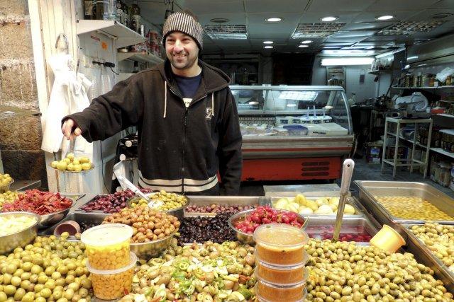 Sur le marché Mahane Yehuda... (Photo Sarah-Émilie Nault, collaboration spéciale)