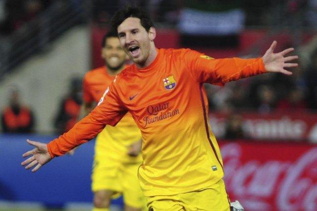 Lionel Messi sera à surveiller cette semaine, lui... (Photo Cristina Quicler, Agence France-Presse)