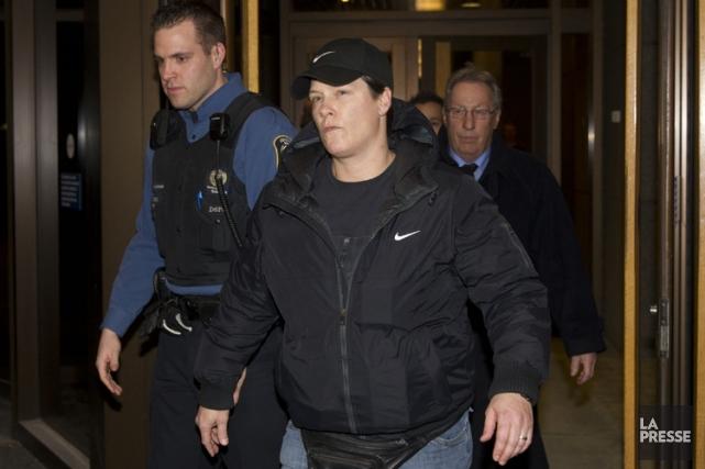 La policière Stéfanie Trudeau, alias «matricule 728».... (PHOTO OLIVIER JEAN, ARCHIVES LA PRESSE)