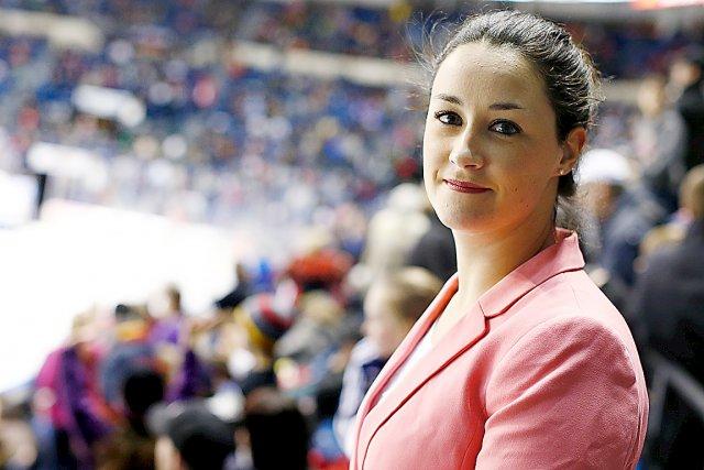 Mélanie Bordeleau a été la première officielle canadienne... (Photo Le Soleil, Yan Doublet)