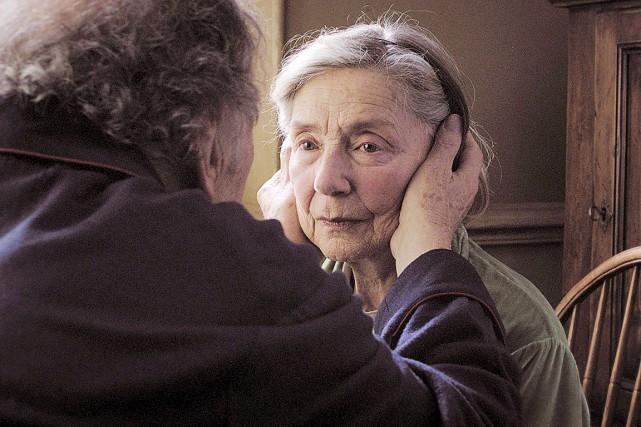 Emmanuelle Riva dans Amour...