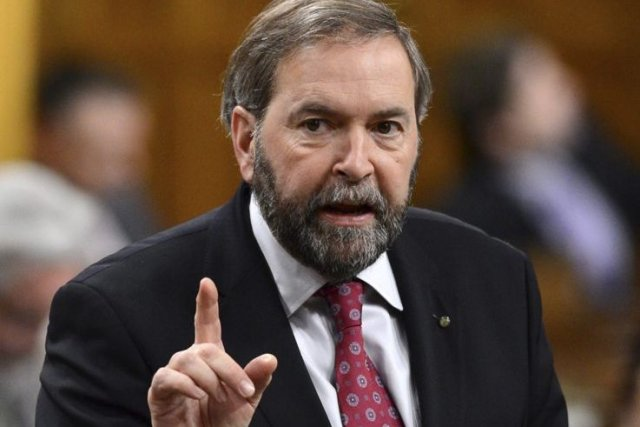 Thomas Mulcair... (Photo La Presse Canadienne)