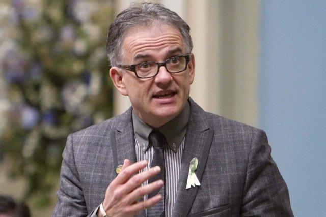 Le ministre de la Santé, Réjean Hébert, affirme... (CLEMENT ALLARD, Archives La Presse Canadienne)