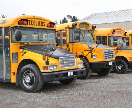 Un chauffeur d'autobus scolaire a été arrêté pour conduite avec les facultés... (Photo archives)