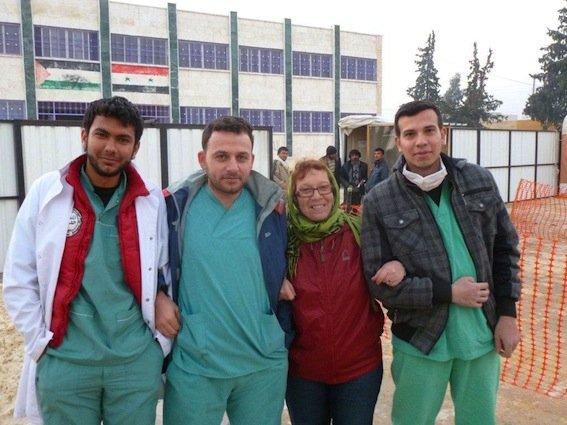 Le personnel syrien est très courageux. Pour certains,... (Photo fournie par Claudette Seyer)