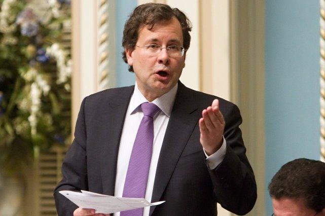 Le ministre de la Justice, Bertrand St-Arnaud... (Photo La Presse Canadienne)