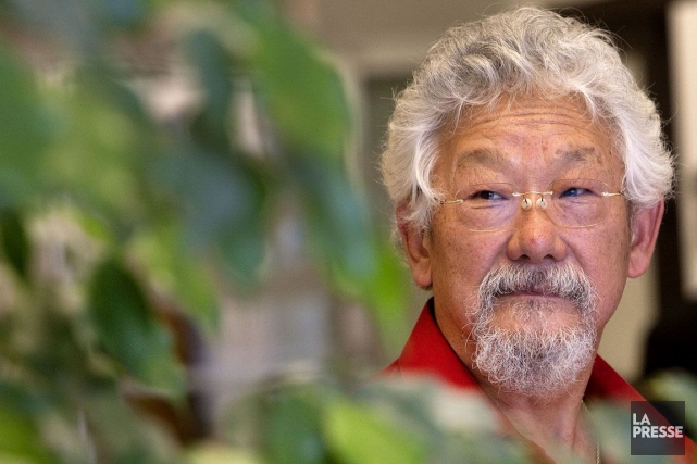 L'écologiste canadien David Suzuki.... (Photo Robert Skinner, archives La Presse)