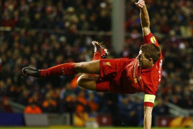 Le superbe but de Steven Gerrard n'a pas... (DARREN STAPLES)