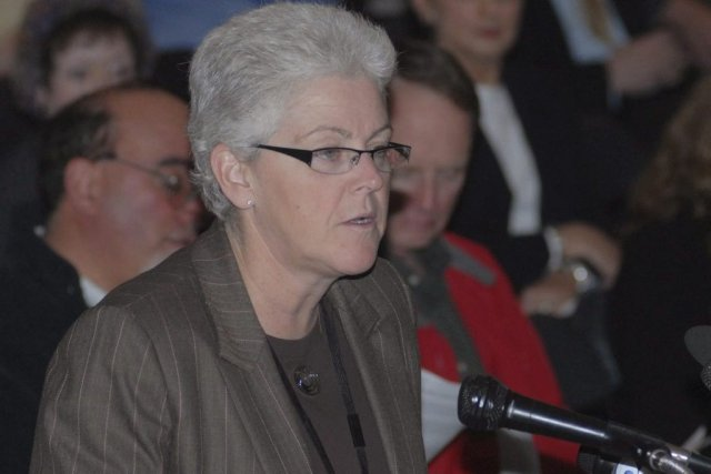 Gina McCarthy, actuellement présidente du bureau de l'air... (Photo Jack Sauer, Associated Press)