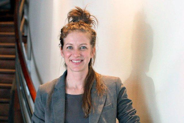 Stéphanie Lévesque, auteure du livre Steph bricole, sera... (Le Soleil, Pascal Ratthé)