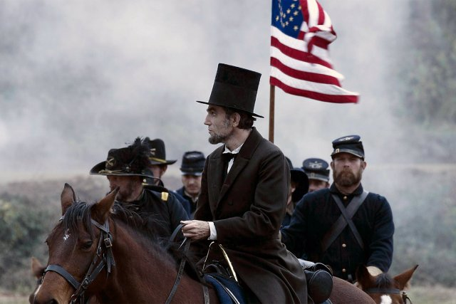 Daniel Day-Lewis dans Lincoln...