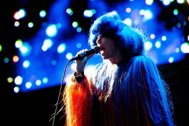 La chanteuse islandaise a publié en 2011Biophilia, un... (PHOTO TIRÉE DE TWITTER)