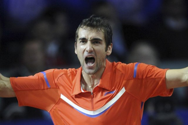 Marin Cilic... (PHOTO HRVOJE POLAN, AFP)