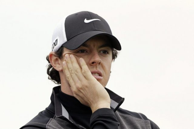 McIlroy a été éliminé lors du premier tour... (PHOTO TED S. WARREN, REUTERS)
