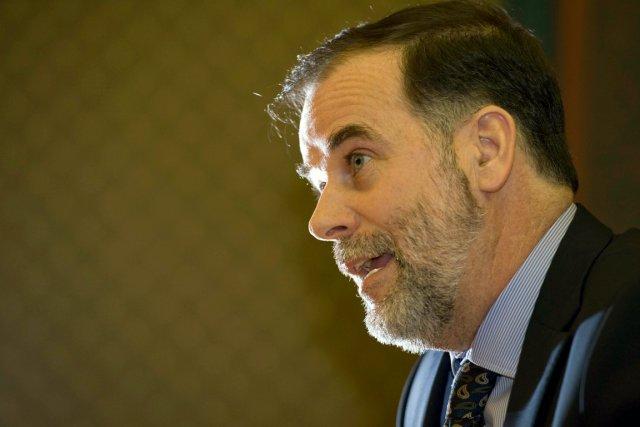 Le ministre Pierre Duchesne est un diplômé de... (Le Soleil, Steve Deschênes)