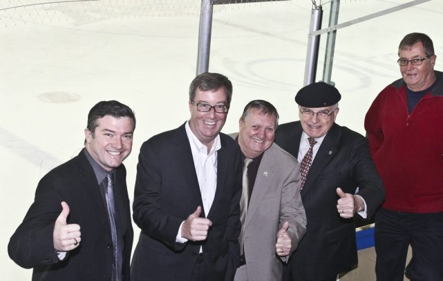 Tim Tierney, Jim Watson, Bob Monette, Royal Galipeau... (Patrick Woodbury, LeDroit)