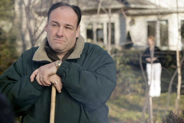 James Gandolfini incarnait Tony Soprano.... (Photo: archives Reuters)