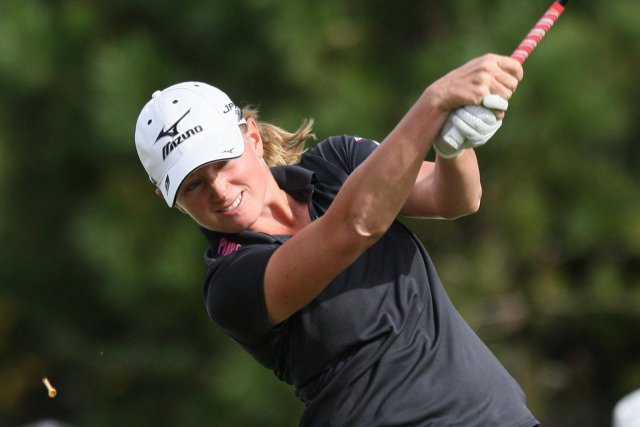 Stacy Lewis... (Photo AFP)