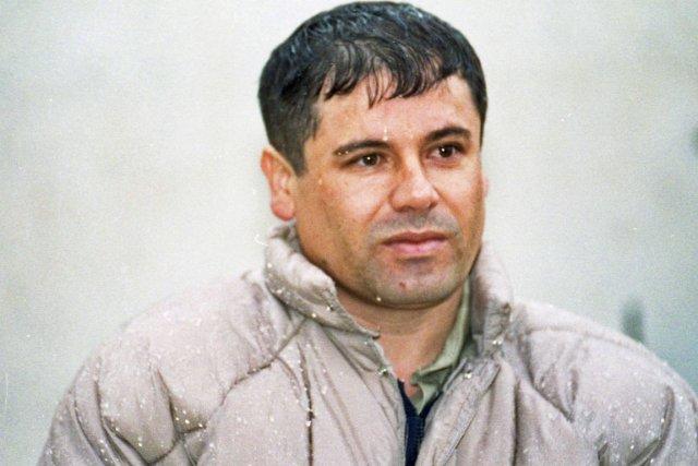 Le caïd du cartel mexicain de Sinaloa Joaquin... (PHOTO DAMIAN DOVARGANES, ARCHIVES AP)