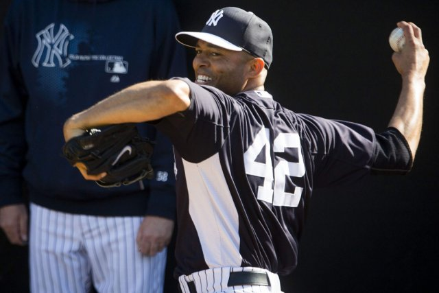 Mariano Rivera... (Photo Scott Audette, Reuters)