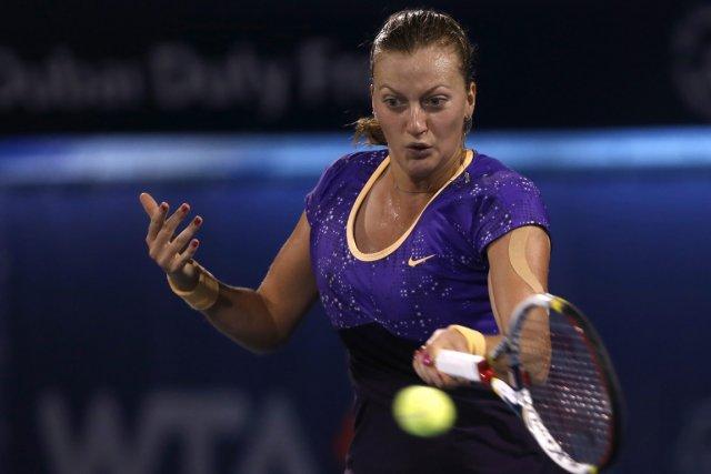 Petra Kvitova... (Photo Regi Varghese, AP)