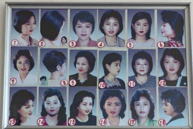 Les Nord-Coréennes ont la liberté de choisir parmi... (PHOTO TIRÉE DU HUFFINGTON POST)