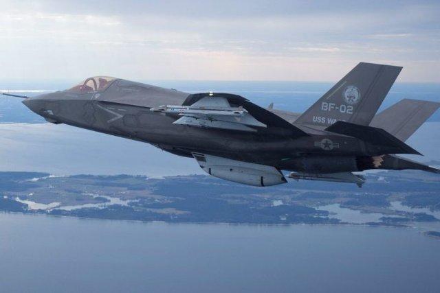 Un Lockheed Martin F-35... (PHOTO REUTERS)