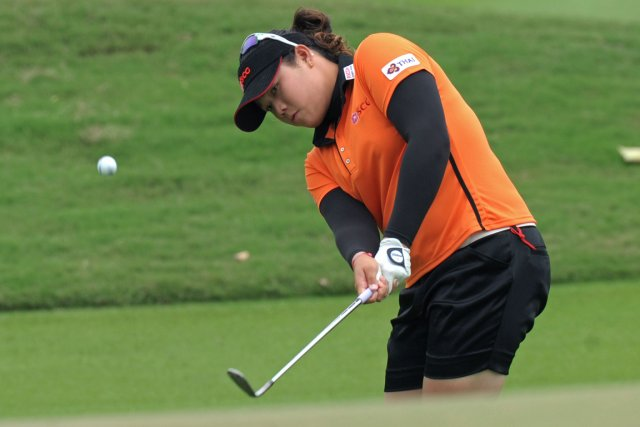Ariya Jutanugarn... (Photo : Pornchai Kittiwongsakul, AFP)