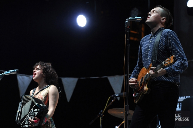 Arcade Fire... (Photo : Bernard Brault, archives La Presse)