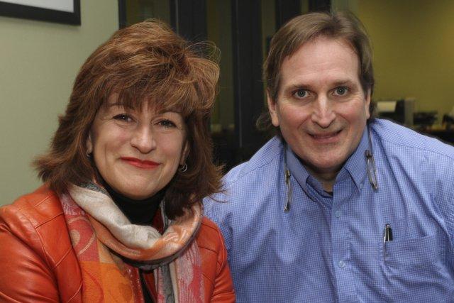 Céline Miron et Jean-Luc Marcil, coachs d'affaires.... (photo Alain Dion)
