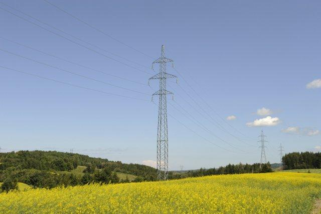 Voici un aperçu du genre de ligne électrique... (photo fournie par Hydro-Québec)