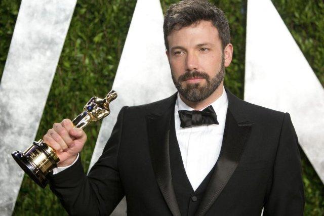 Ben Affleck avait amené son Oscar du meilleur... (Photo: AFP)