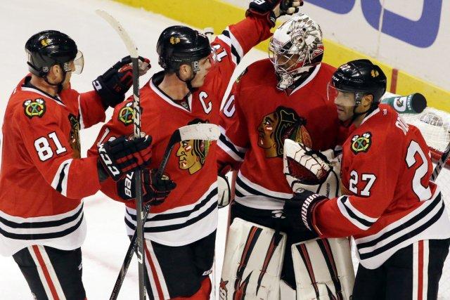 Chicago savoure la séquence historique de 22 matchs... (Photo Nam Y. Huh, AP)