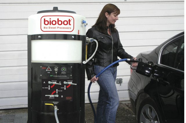 La malbouffe est plus forte que les pétrolières... (Photo fournie par BioBot.)