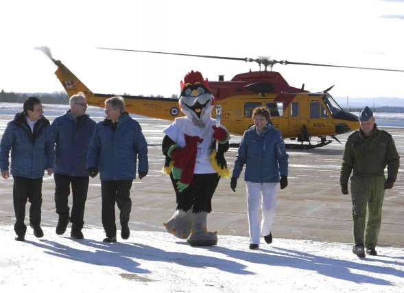 Le premier vice-président des Jeux du Québec à... (Photo Mariane L. St-Gelais)