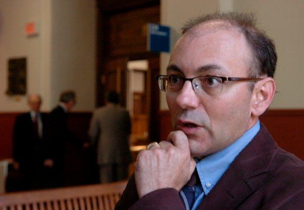 Le porte-parole de la Coalition Proprio-Béton Yvon Boivin.... (Photo: François Gervais)