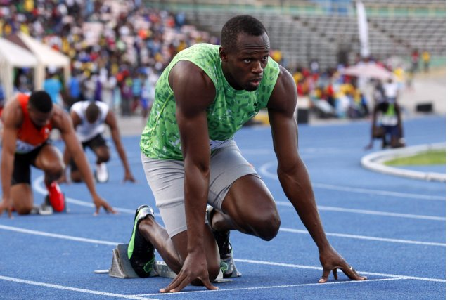Usain Bolt... (PHOTO GILBERT BELLAMY, REUTERS)