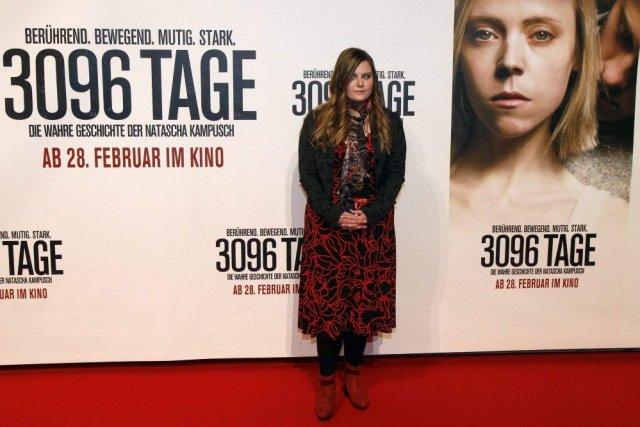 Natascha Kampusch lors de la première du film... (Photo: AP)