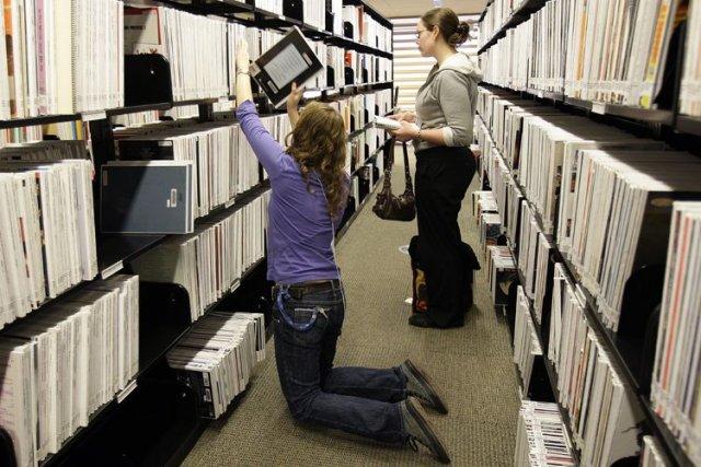 Pendant la relâche, les rats de bibliothèque ne... (Photo: Robert Mailloux, La Presse)