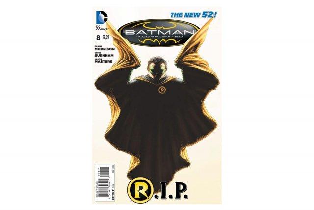 Le numéro à paraître mercredi de Batman Incorporated,...