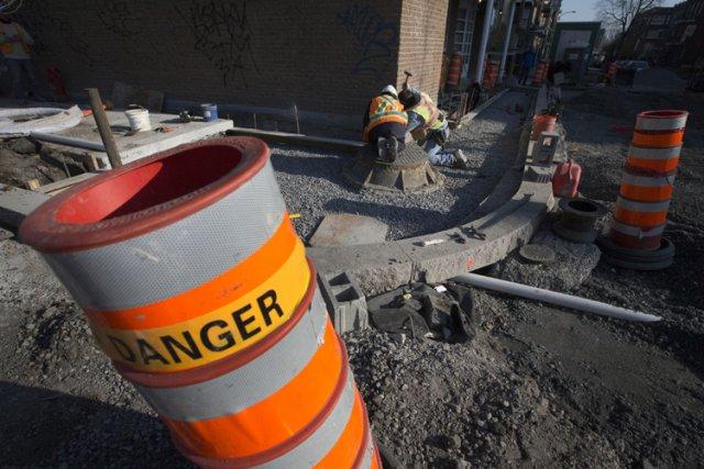 La saison des mises en chantier approche. Pourtant,... (Photo: Ivanoh Demers, La Presse)