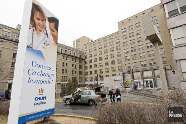 L'hôpital Notre-Dame de Montréal.... (PHOTO DAVID BOILY, ARCHIVES LA PRESSE)