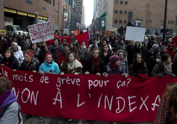 Aussitôt le Sommet sur l'Enseignement supérieur terminé, des... (Photo: La Presse Canadienne)