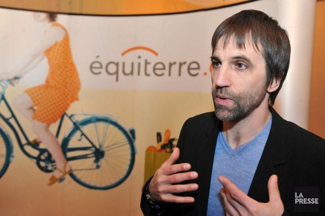 Steven Guilbeault était de passage dans la région... (Photo Stéphane Lessard, Archives La Presse)