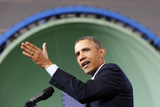 Le président Barack Obama a prononcé un discours... (PHOTO KEVIN LAMARQUE, REUTERS)
