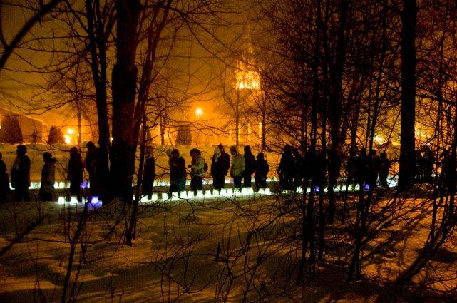 Le Relais hivernal pour la vie de Hérouxville... (Photo: Sylvain Mayer)