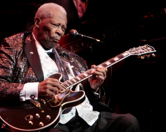 Le légendaire B.B. King sera en spectacle le... (Simon Séguin-Bertrand, Archives LeDroit)